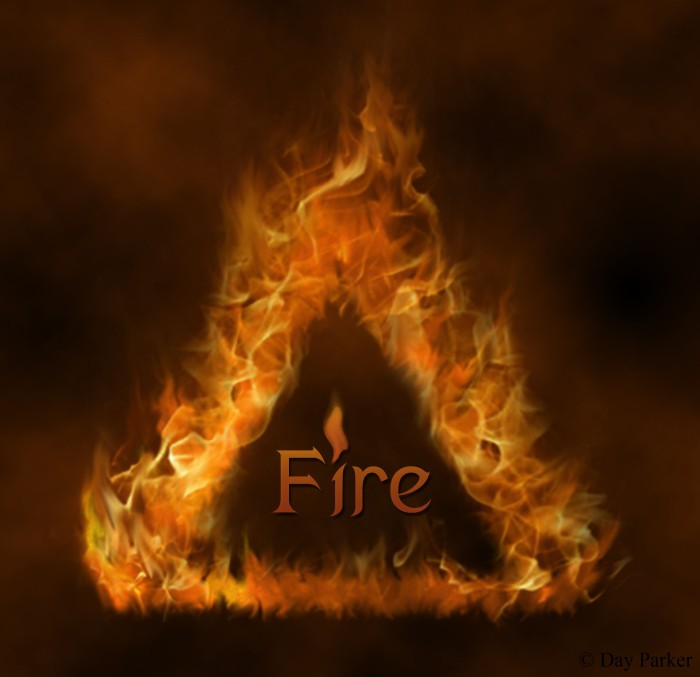 Fire Element Symbol C