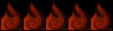 5 Flames