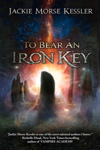 to  bear an iron key